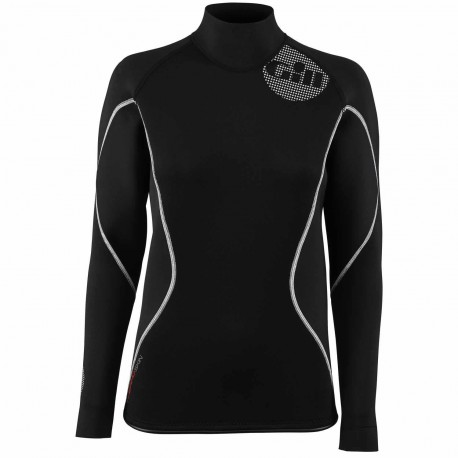 GILL - T-shirt W thermoskin manches longues - Noir