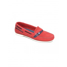 Mocassins Hawai - Rouge
