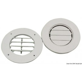 Osculati - Grille aération ABS blanc 163 mm + col