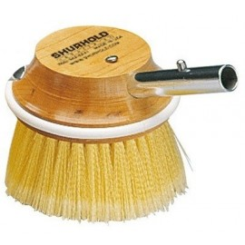 "Shurhold Industries - Brosse ronde 5"" polyester jaune"