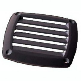 Osculati - Grille ABS 125 x 125 mm noire