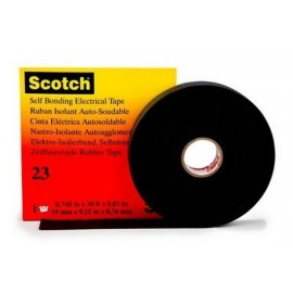 3M Scotch 23 noir 19mm x 9m