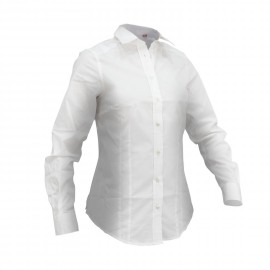 SLAM - Chemise Cheval LS - Blanche