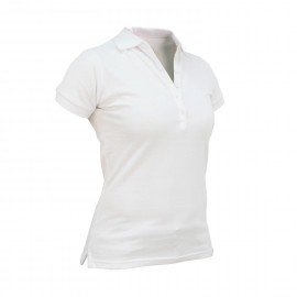 Polo Roseland SS - Blanc