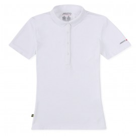MUSTO - Polo Sunshield femme - Blanc