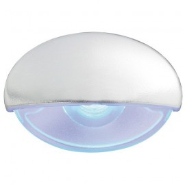 Lumiere courtoisie Steeplight blanche LED bleu