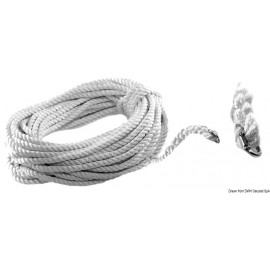 Cordage et maillon a riveter 12 mm