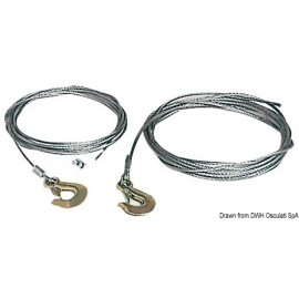 Osculati - Cable pour treuil 5 mm x 4,5 m