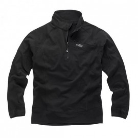 Micropolaire Thermogrid zip - Noir
