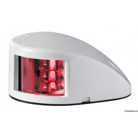 Osculati - Feu de navigation Mouse Deck rouge ABS blanc