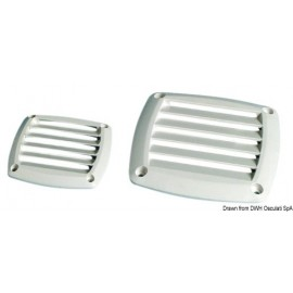Osculati - Grille ABS 125 x 125 mm blanche