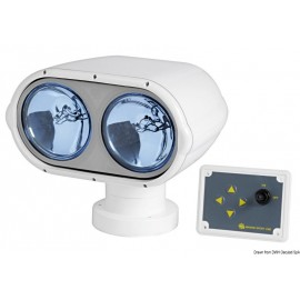 Projecteur Night Eye avec 2 ampoules etanches 12 V