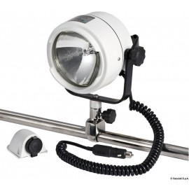 Projecteur Night Eye en laiton chrome 12 V