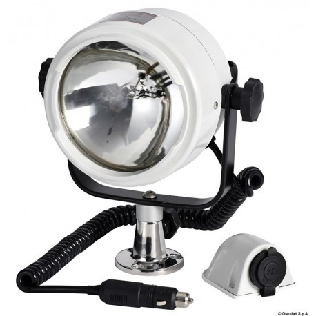 Osculati - Projecteur Night Eye ABS 12 V 100+100 W
