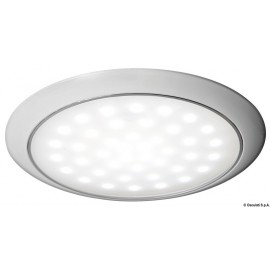 Eclairage LED ultraplate bague blanche 12/24 V 3 W