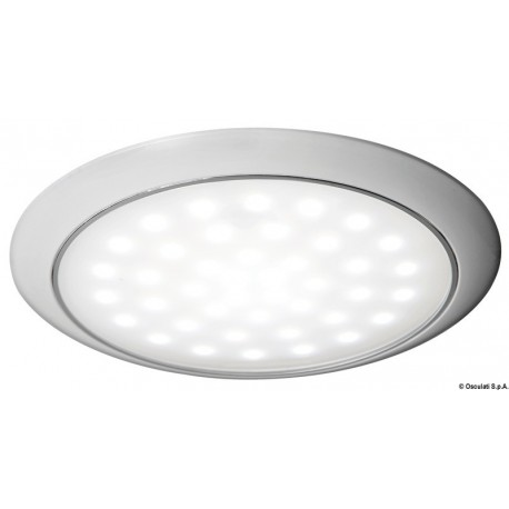 Osculati - Eclairage LED ultraplate bague blanche 12/24 V 3 W