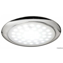 Eclairage LED ultraplate bague chromee 12/24 V 3 W