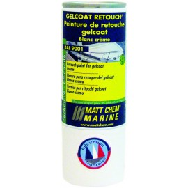 MATT CHEM - GELCOAT 9010 BLANC-P AERO 150ML (C12)