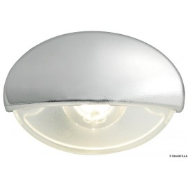 Lumiere courtoisie Steeplight chromee LED blanc
