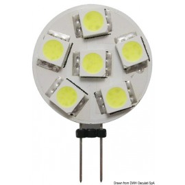 Osculati - Ampoule 6 LED G4 fixation latèrale Ø 24 mm