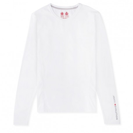 MUSTO - T-shirt W Evolution manches longues - Blanc