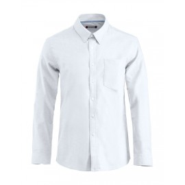 NEW WAVE - Chemise Oxford - Blanc
