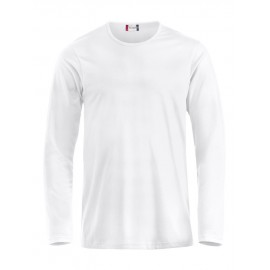 T-shirt manches longues Fashion - Blanc