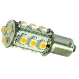 VidalMarine - 1 AMP BAY15D 60LED ROUGE 8V 35V 3W