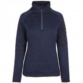 "Veste bleu marine ""Knit fleece jacket"""
