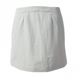 GILL - Jupe short UV Tec - Grise claire