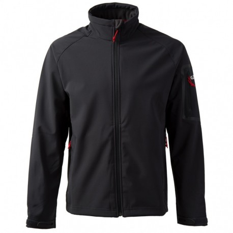 GILL - Veste Softshell Equipage - Noire