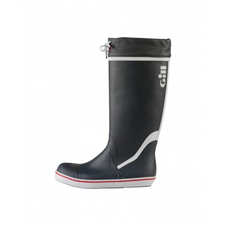 GILL - Bottes haute yachting junior- Noir