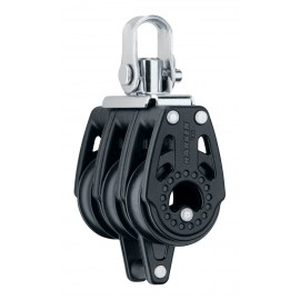 Poulie triple block 29mm - Swivel, Becket