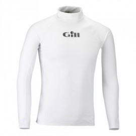 GILL - T-shirt UV Rash junior manches longues - Blanc