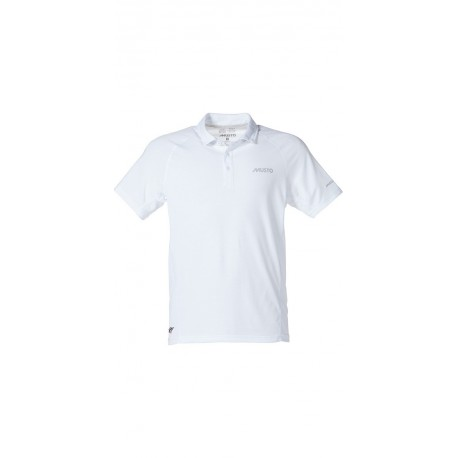 MUSTO - Polo Essential Evolution UV manches courtes - Blanc