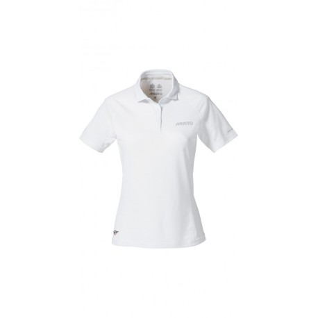 MUSTO - Polo W Essential Evolution UV manches courtes - Blanc